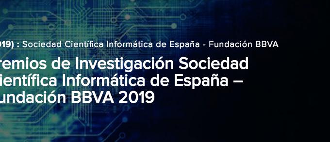 Premios SCIE BBVA en web CODDII