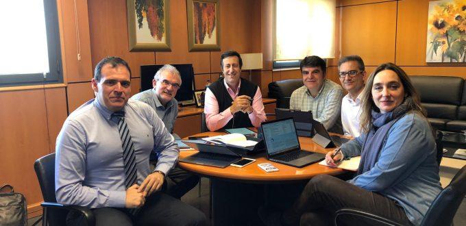 reunión equipo directivo CODDII