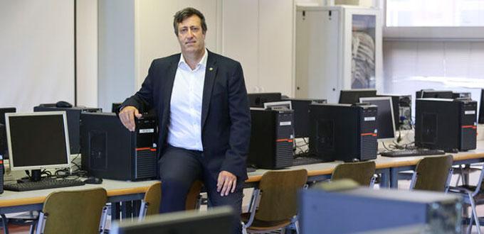 Ernesto Pimentel, presidente de CODDII (Foto Málaga Hoy)