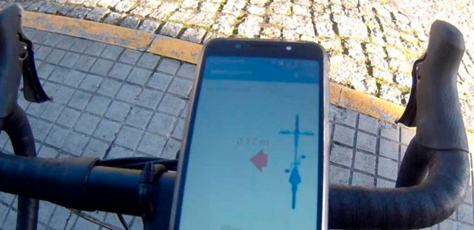 App Bike Distance - El Confidencial