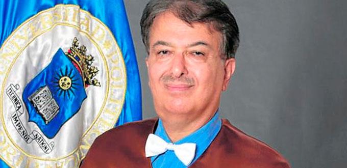 Hojjat Adeli investido doctor honoris causa por la Universidad de Cartagena