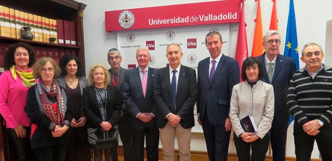 Reunión Universidad de Valladolid con Real Academia de Ingeniería