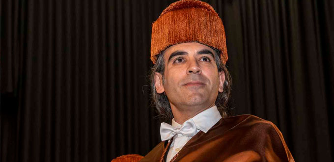 Chema Alonso, doctor honoris causa por la URJC
