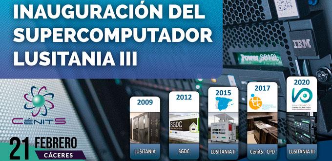 Supercomputador Extremadura Lusitania III